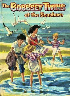 "The Bobbsey Twins Series by Laura Lee Hope ~ Another favorite from my childhood. At the Seashore"" has particular memories. Good Books, Books To Read, My Books, Teen Books, Library Books, Lisa Frank, My Childhood Memories, Sweet Memories, Childhood Toys"