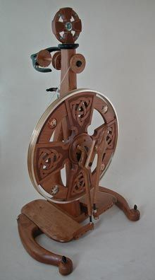 Every one is a work of art. If you love spinning look at this site and drool - http://www.dropspindle.info/spinning/single
