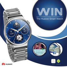 We are giving you the opportunity to win one of the best looking Smartwatches on the market. The Huawei Watch combines beautiful design with smart technology to deliver an unmatched timepiece. Both ip