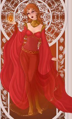 Azalea's Dolls | Azalea dolls Goddess of Fire by GeeknGood