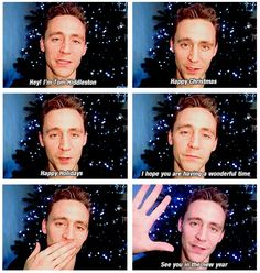 Happy Holidays from Hiddles (taken from http://mishasteaparty.tumblr.com/post/38944733345)