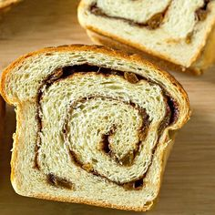 Get the recipe for this delicious cinnamon bread and learn ways to keep those swirls of dough and filling from separating when you slice it. Tasty Bread Recipe, Bread Recipes, Cinnamon Swirl Bread, Yeast Bread, Falling Apart, Baking Tips, Favorite Recipes, Homemade, Separate
