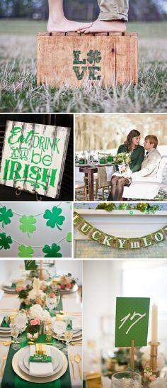 St. Patrick's Day Wedding Ideas - Serendipity Beyond Design