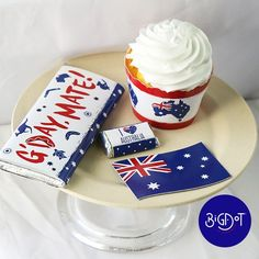 Choose from a wide variety of Australia Day Themed favors! Must-have favorites are standard and mini candy bar wrappers, and adjustable cupcake wrappers. Also scatter the Australian flag throughout your party decorations with shaped cutouts. Australian Party, Australian Flags, Candy Bar Wrappers, Cupcake Wrappers, Aussie Food, Party Themes, Party Ideas, Australia Day, Wine Bottle Labels