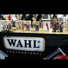 Wahl Booth at Atlanta Hair Show 2016 #ABBS #Atlanta #barber #supplies #Wahl #clippers #trimmers