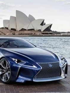 Lexus...A Study of Angles and Points  LF-LC Hybrid Concept Car