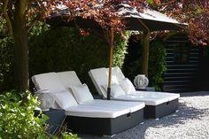 Tuin en terras | Mooie loungeplek voor de tuin