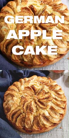 Easy German Apple Cake Recipe - Fall Apfelkuchen Dessert just the way your Oma made it Serve with whipped cream apple cake german masalaherb Apple Dessert Recipes, Easy Cake Recipes, Just Desserts, Fall Recipes, Baking Recipes, Desserts With Apples, Cooking Apple Recipes, Easy Apple Desserts, German Food Recipes