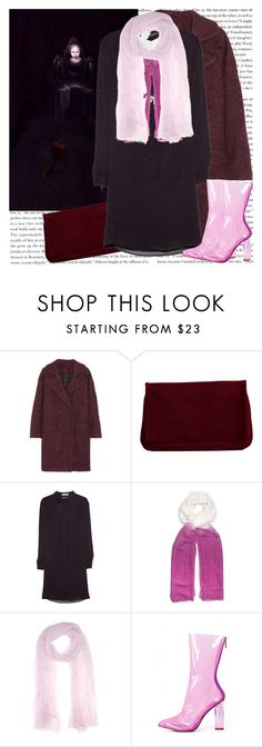 """""""Heather Nevay"""" by georgina-m ❤ liked on Polyvore featuring Karl Lagerfeld, Pieces, MANGO, Feather & Stone and Faliero Sarti"""