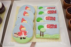 Little Red Riding Hood Iced Cookies