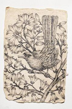 Bird on Tree Classic Collection, Luxury Interior, Scandinavian, Vintage World Maps, Sculptures, Art Deco, Bird, Contemporary, Wall Hangings