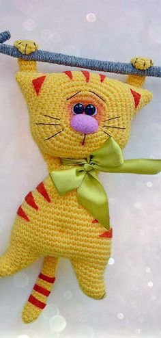 Amigurumi Cats Free Pattern – he's soo adorable! ~ luv the colours, facial expression, everything! Amigurumi Cats Free Pattern – he's soo adorable! ~ luv the colours, facial expression, everything! Crochet Cat Pattern, Crochet Amigurumi Free Patterns, Crochet Bear, Crochet Dolls, Knitting Patterns Free, Cute Crochet, Amigurumi Animals, Knitted Animals, Amigurumi Doll