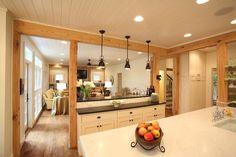 Cottage Living Kitchen & Living Room Remodel