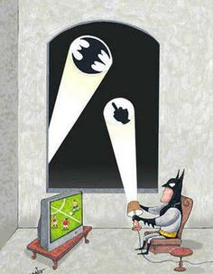 Batman is Busy (Batman está ocupado)