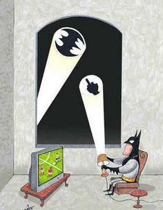 Batman is Busy