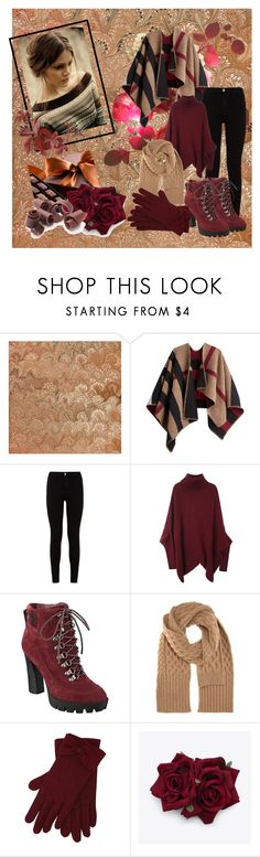 """""""Casual"""" by ajmalina ❤ liked on Polyvore featuring Burberry, 7 For All Mankind, Nine West, Maison Margiela and M&Co"""