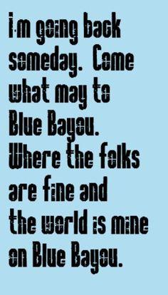 Linda Ronstadt - Blue Bayou - song lyrics, songs,music lyrics, song quotes, music quotes