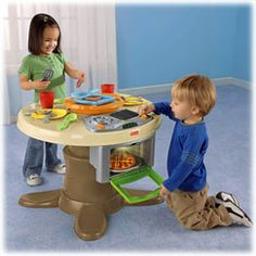 Servin Surprises Kitchen & Table - Fisher-Price Online Toy Store