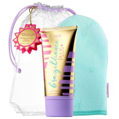 Shop tarte's Brazilliance™ PLUS+ Self-Tanner + Mitt at Sephora. This skin care-infused version of tarte's bestselling self-tanner comes with a mitt.