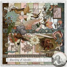 Dreaming of Camelot :: Full & Mini Kits :: Memory Scraps