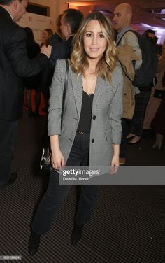 Rachel Stevens attends the launch of InterTalent Rights Group at BAFTA on March 2018 in London, England. (Photo by David M. Rachel Stevens Style, S Club 7, Louise Redknapp, Marisa Miller, Checked Blazer, Divorce, Dress To Impress, Night Out, What To Wear