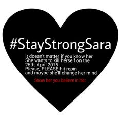 PLEASE I BEG YOU I LOVE SARA SO MUCH PLEASE PLEASE I CAN'T LOSE HER- She is a fangirl @supersis32