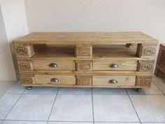 1000 id es sur le th me meuble tv palette sur pinterest meuble tv meuble e - Le bon coin meuble tele ...