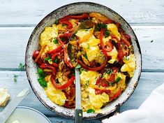 Speedy pepper scrambled eggs for four - # scrambled eggs is not only it tastes . - Speedy pepper scrambled eggs for four – eggs is not only carb, it tastes good too - Vegetarian Recipes, Healthy Recipes, French Toast Casserole, Health Breakfast, Scrambled Eggs, Shrimp Recipes, Brunch Recipes, Food Inspiration, Food And Drink