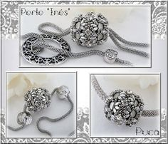 Schéma perle perlée Inès