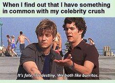 Its fate it's destiny we both love tacos |-/