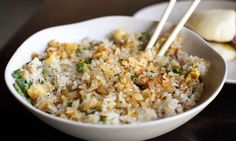 Bacon Fried Rice Will Get You Up in the Morning