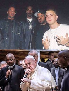 Pope-a-licioush rhyme schemes and a dope beatbox is all it takes to make religion fly again. – Still, there's some reasonable doubt.