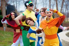 avatar the last airbender ember island players-these are the best costumes that I have ever seen. Avatar Cosplay, Epic Cosplay, Amazing Cosplay, Funny Cosplay, Anime Cosplay, Korra Avatar, Team Avatar, Avatar Airbender, Alter Ego