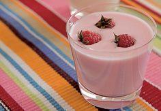 Iogurte de frutas.