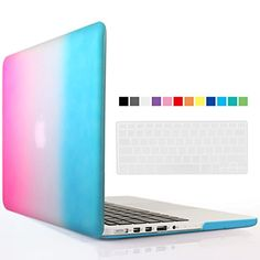 iBenzer - 2 in 1 Multi colors Soft-Touch Plastic Hard Case Cover & Keyboard Coverfor 15 inches Macbook Pro 15.6'' with Retina display (Model: A1398 ), Rainbow MMP15R-RB+1 iBenzer http://smile.amazon.com/dp/B00VITMMAI/ref=cm_sw_r_pi_dp_f6jawb1A69T1C
