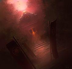 — Keep of the Dead by noahbradley on deviantART