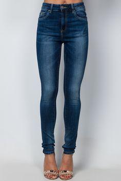 Sophia Denim Skinny Jeans at Misspap.co.uk