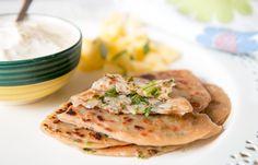 Spicy Onion Stuffed Paratha Recipe