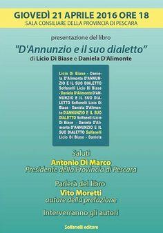 Pescara DAnnunzio e il suo dialetto