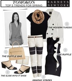 """""""Tomoko Ogura's Top 5 Trends for Spring"""" by houseofhauteness ❤ liked on Polyvore"""