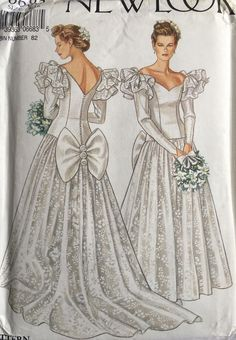Vintage Sewing Patterns, Clothing Patterns, Vintage Outfits, Vintage Fashion, Vintage Clothing, Vintage Wedding Photos, Fashion Sewing, Here Comes The Bride, Vintage Accessories
