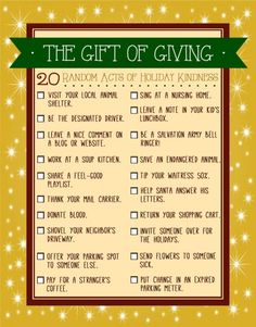 20 Random Acts of Kindness to Perform this Holiday Season