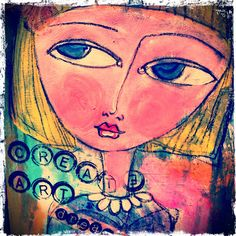 Art Eye Candy http://www.arteyecandy.com mixed media journal page.