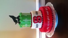 NCSU Grooms cake  I don't go to State, but that's a really good idea.