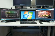 How to create an insane multiple monitor setup with three, four, or more displays