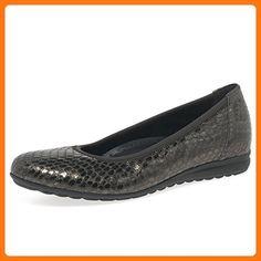d9233a77e1d0c3 Gabor Women s Splash Casual Shoes 7.5 F (W) UK  9.5 C D (W) US Anthracite  Snake ( Partner Link)