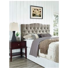 Three Posts Cleveland Upholstered Headboard & Reviews | Wayfair