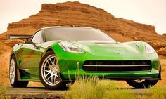 'Transformers 4' features a lime-green Corvette Stingray