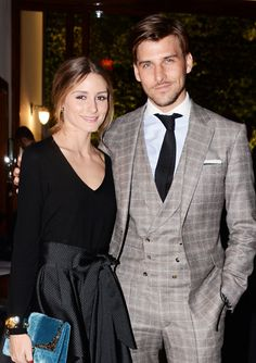Celebrity Parties: March 21 to March 27, 2014 - Olivia Palermo and Johannes Huebl from #InStyle