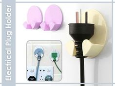 2pcs Electrical Plug Holder Electrical Plug Holder- TCAT Philippines Online Shopping in the Philippines
